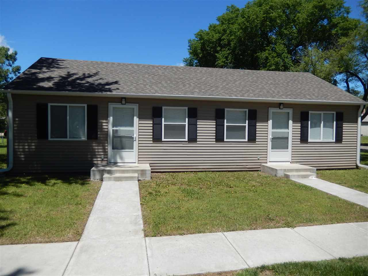 This is a great investment property. Units are 100% electric, no gas ran to unit.  It has been rente