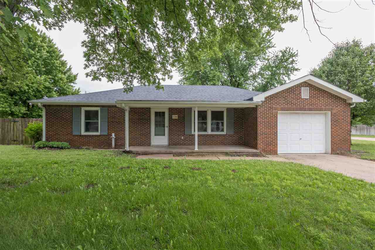 Ideal 2 Bedroom all brick home in a quiet south Wichita neighborhood! Pulling up, you're greeted by