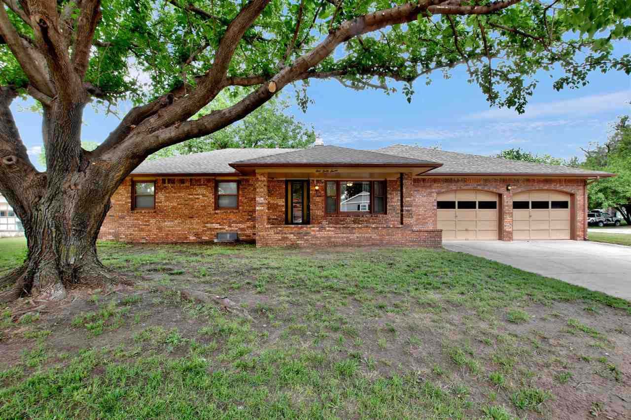 This is the one you've been waiting for! Lovely brick 3 bedroom, 2 bath home with unfinished basemen