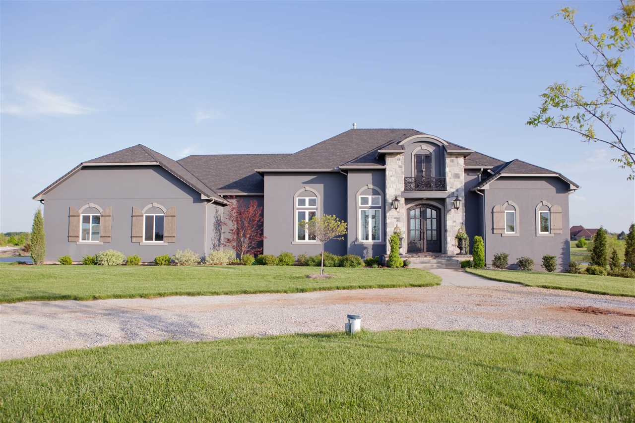 Absolutely Stunning, completely custom built home with 4 bedrooms and 4.5 bathrooms that sits on app