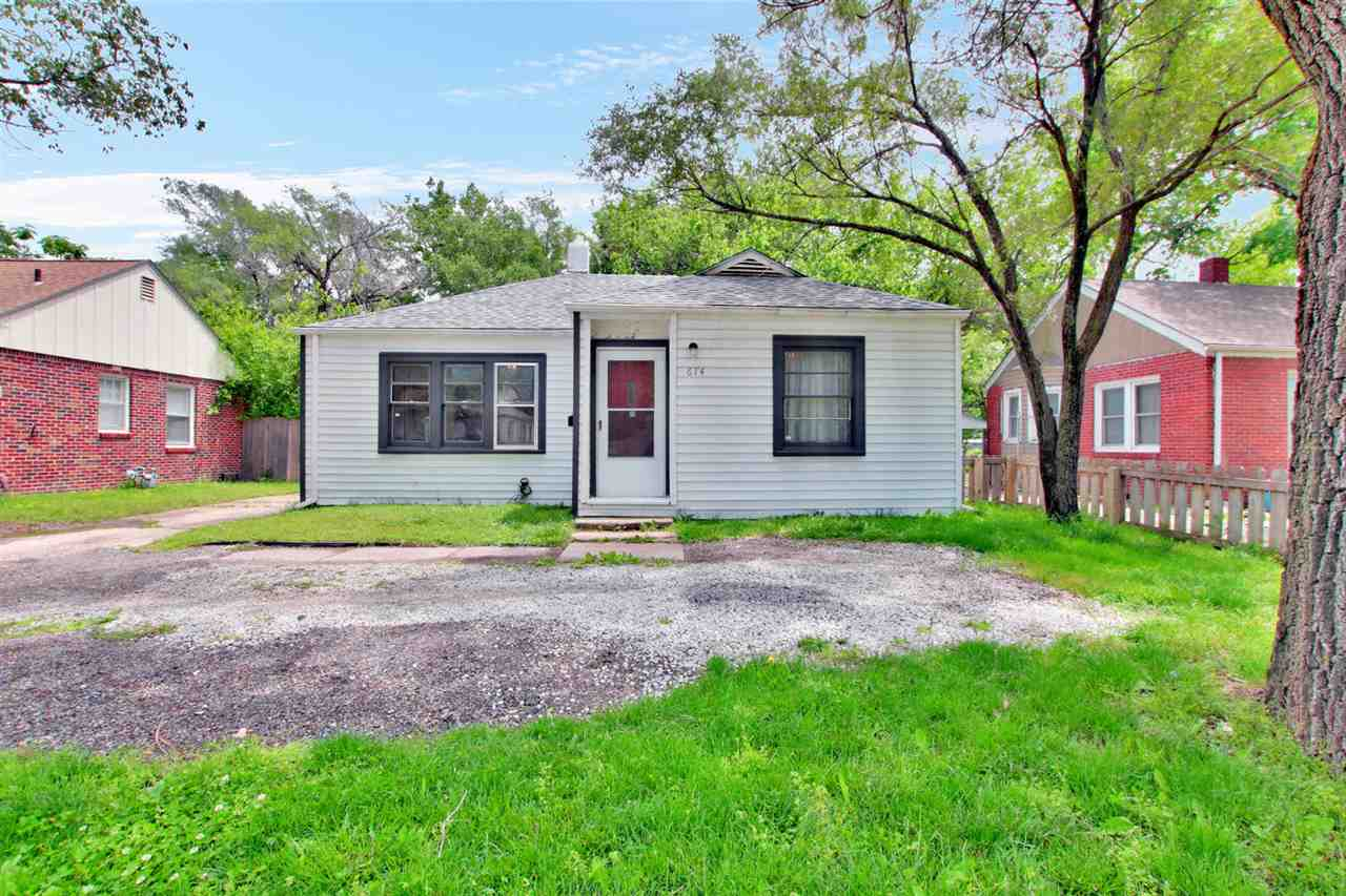 Check out this cute two-bedroom gem located in the East side of Wichita! The updates and wood finish