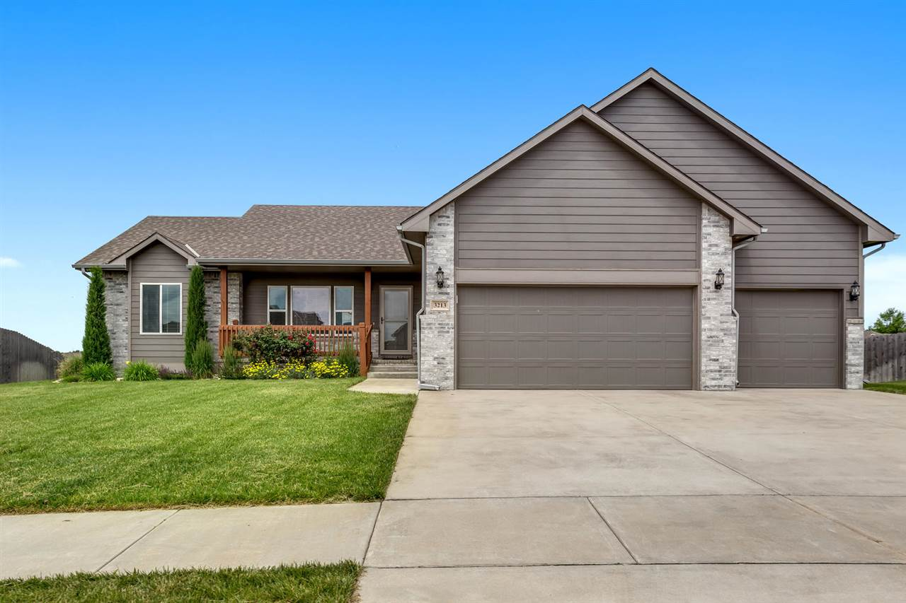 Beautiful 4 bedroom 3 bath home in desired North Derby neighborhood. This ranch style home with open