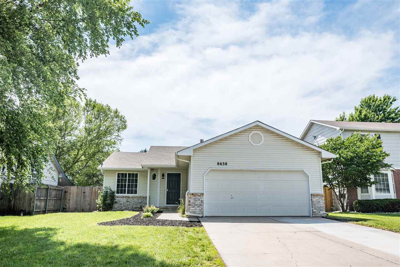 Beautiful turn key property located in west wichita! This home has 3 bedrooms, 2 bath and a 2 car ga