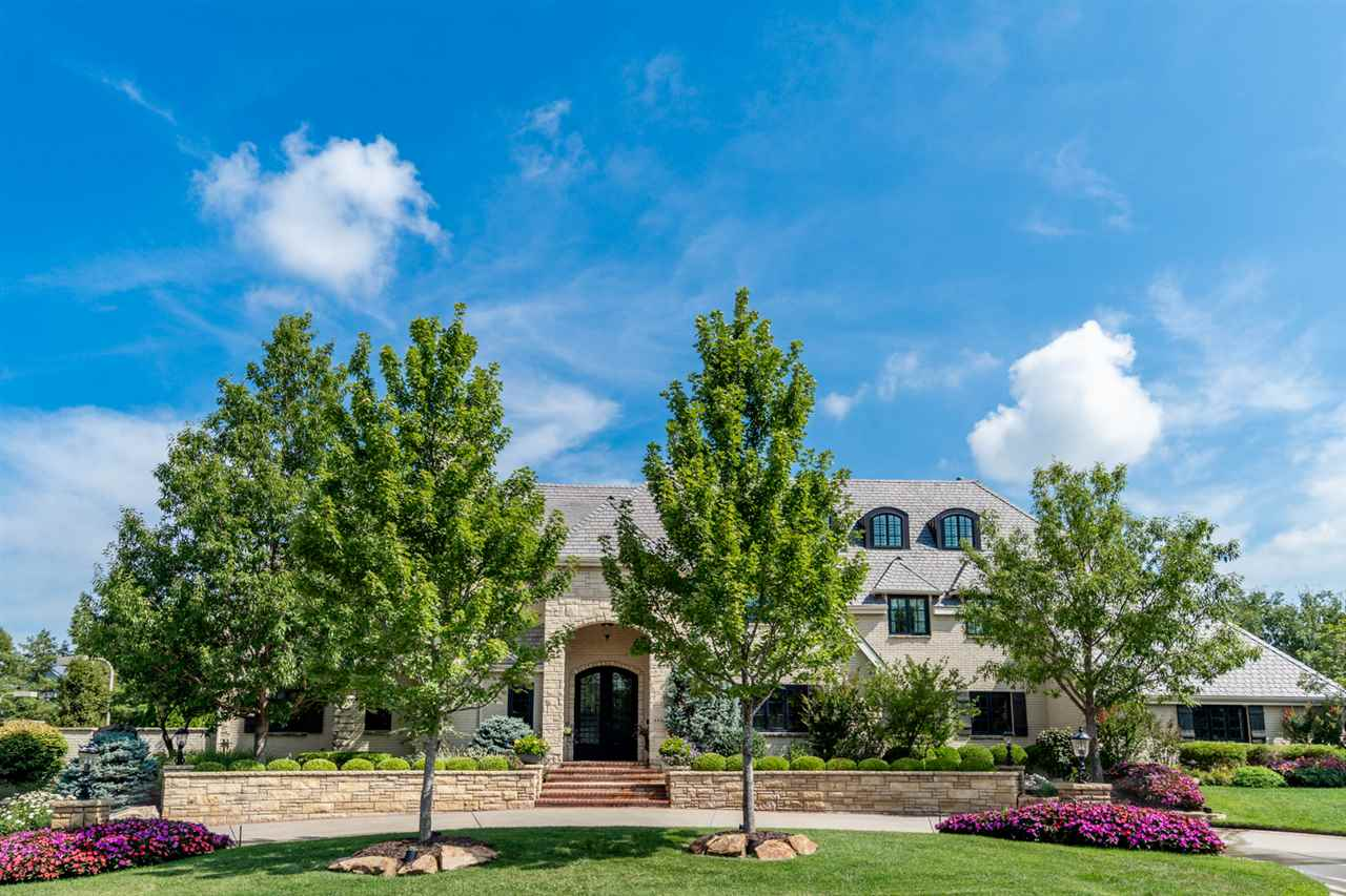 This Magnificent Custom-Built Estate is truly one of the finest properties in Wichita.   The home wa