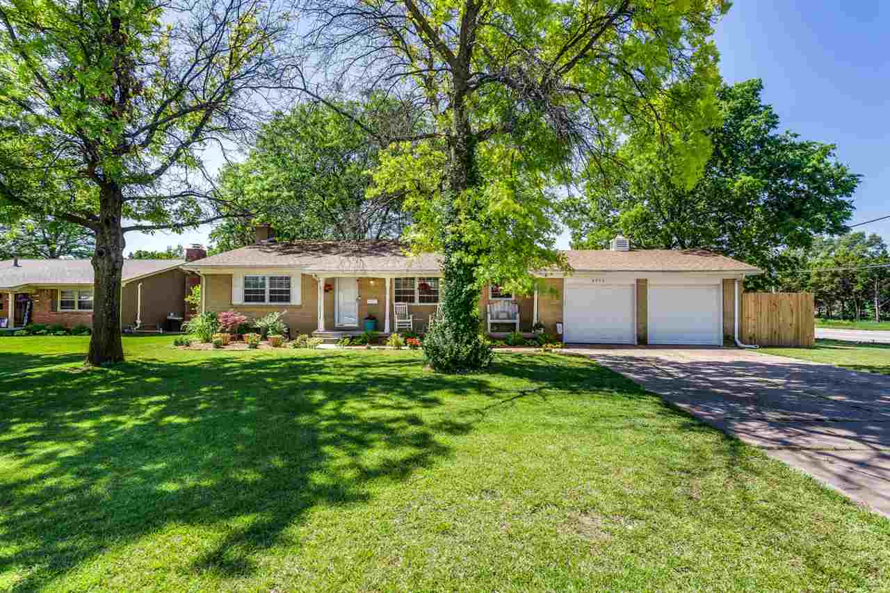 Step into this beautifully updated and cared for ranch home in the heart of Wichita's Eastside. The