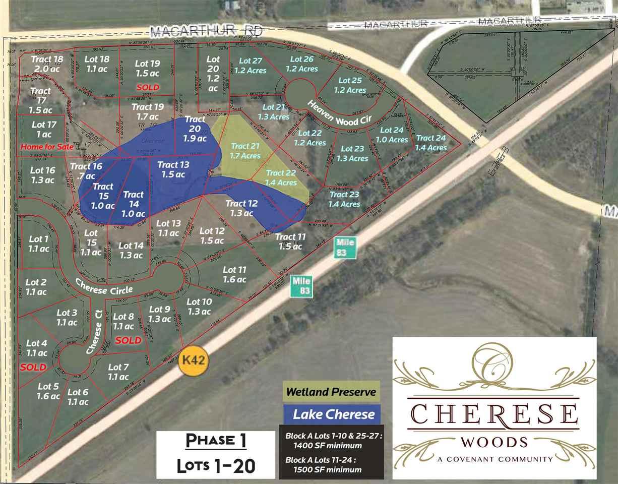 For Sale: 11845  Cherese Court, Wichita KS