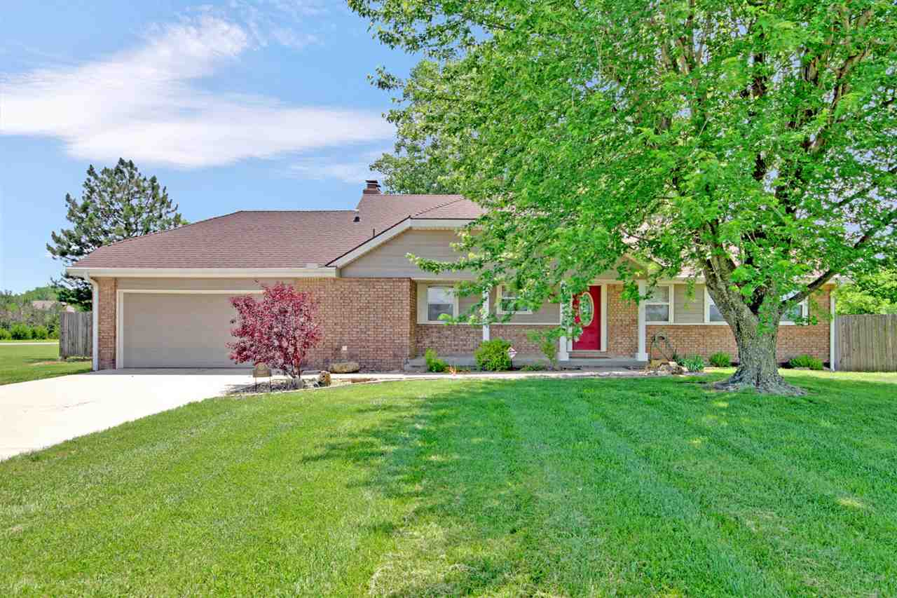 Here's what you've been waiting for! Immaculate, move in ready all brick home with recent updates including granite and freshly remodeled basement. PLUS a country property with great shop buildings for all of your equipment and toys. Just when you thought it couldn't get any better let's bring up the in-ground saltwater pool, expansive patios and room for horses! All this located only a few minutes from town and no dirt roads to mess up that classic car! Located on paved frontage you can save the dust and dirt for your weekends and 4 wheeling.  Room for plenty of big toys and equipment! A 30 X 30 shop building complete with two 12' high by 10' wide roll up doors, and 14' sidewalls. The 40 x 24 shop is wired for 220 so bring those welders and heavy duty woodworking equipment! Imagine the amazing pool parties you can host on the extensive concrete patios. Wood privacy fencing will keep the dogs happy and when friends come to visit you'll enjoy the full RV hookup including water, sewer and electric!  Who knew social distancing could be so much FUN!