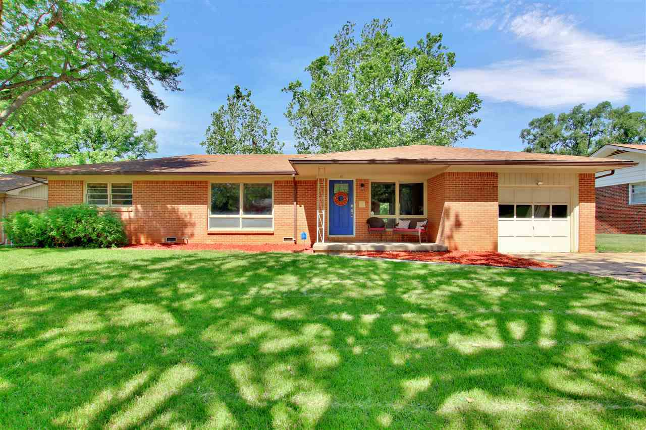 Come check out this beautiful west Wichita home that backs up to Buffalo Park…gives a feeling of a l