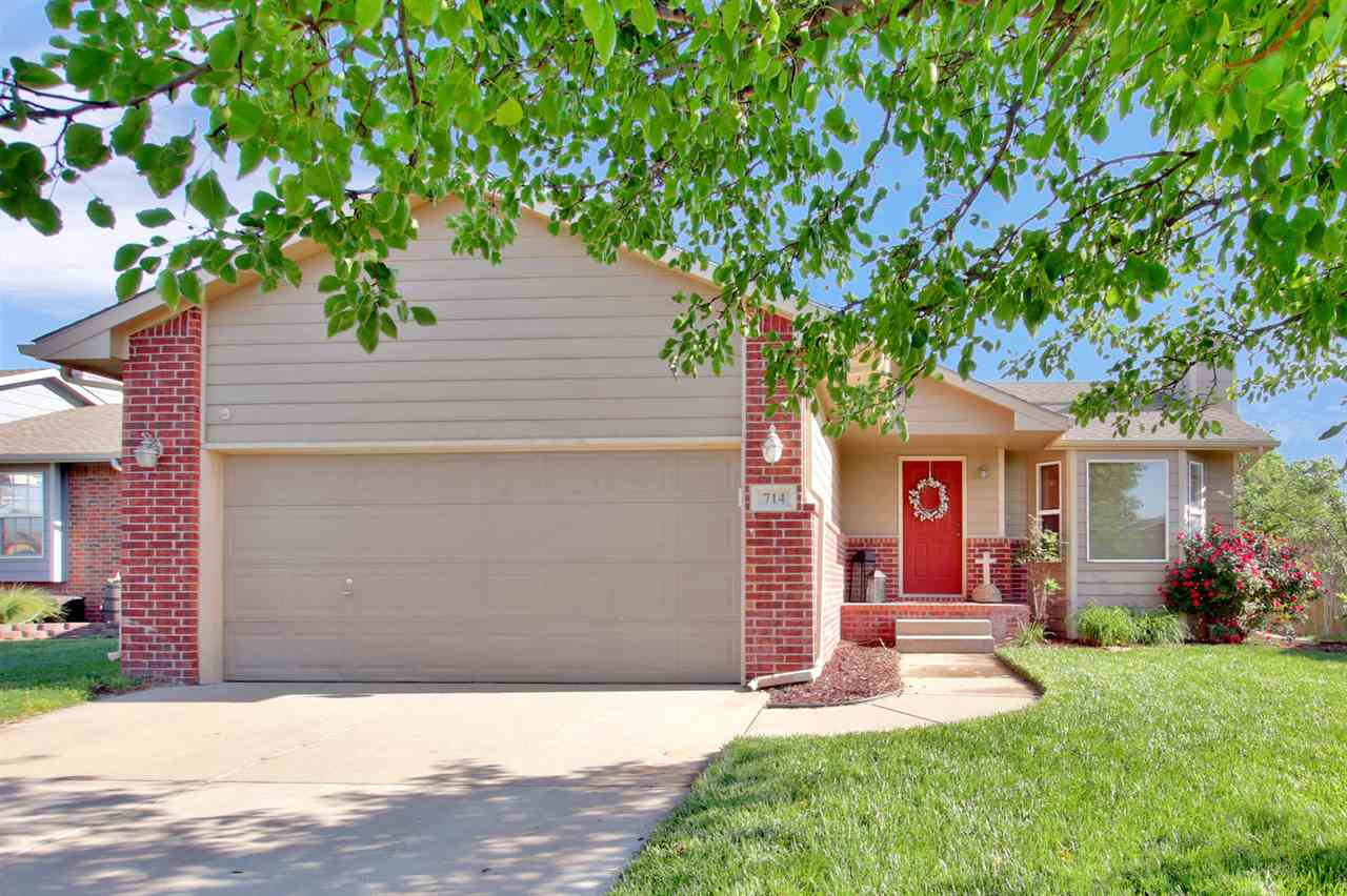 Welcome Home! Located in the highly sought after, Maize School District with NO HOA dues. You will k