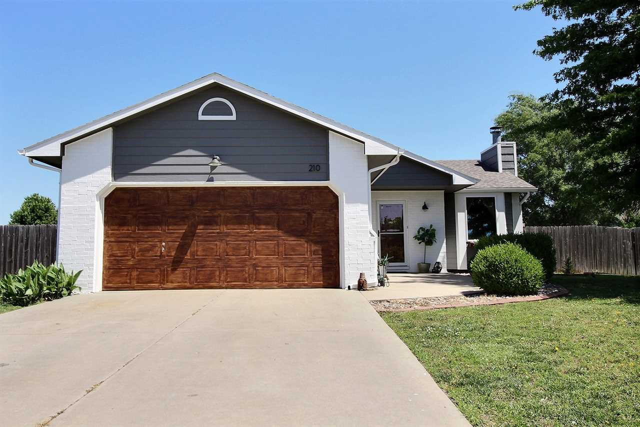 Newly updated open concept home in desirable Mulvane schools. Home features brand new windows on the