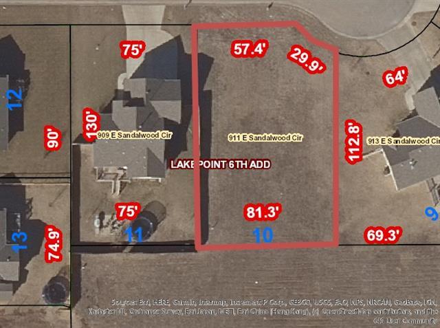 For Sale: 911 E Sandalwood Cir, Augusta KS