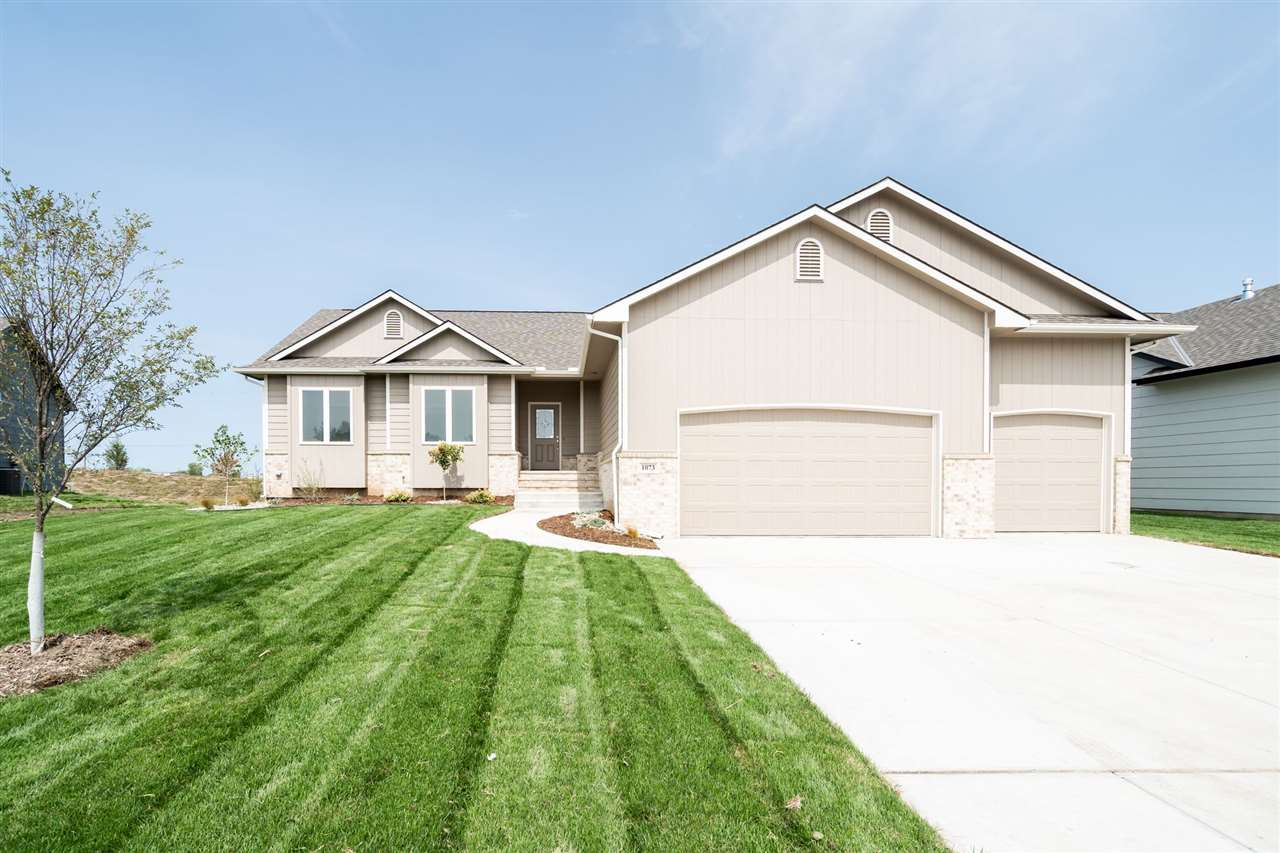 This charming home is ready for you to tour! Vision Custom Homes model in Arbor Creek features over