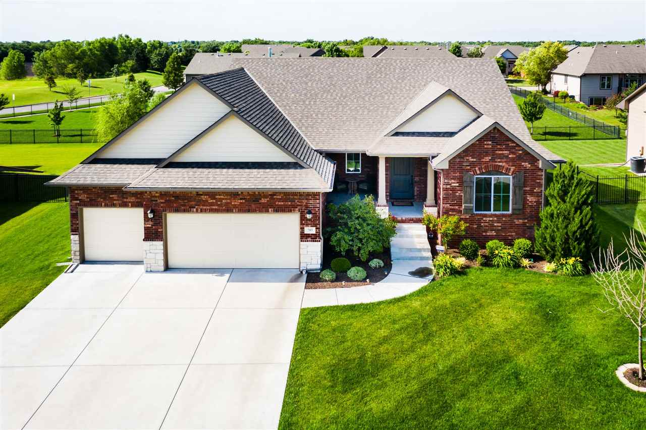 Welcome Home!  You will love coming home to this sensational ranch situated on a cul-de-sac lot and