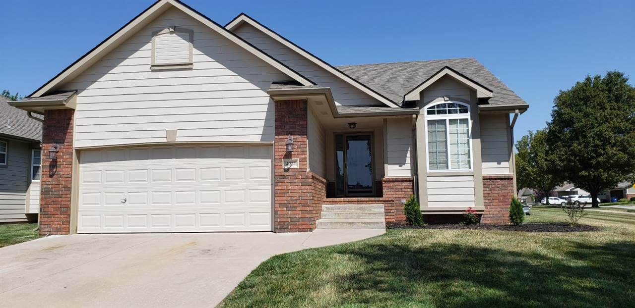 Nicely located patio home in Bel Aire Heights. 3 bedrooms, 3 baths, 2 gas fireplaces  to keep the ho