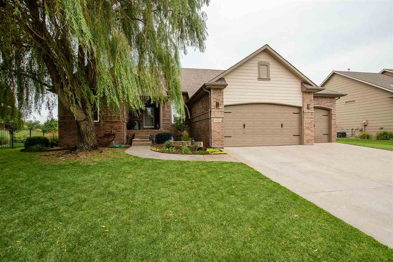 Located on  private cul-de-sac in Northwest Wichita's Premier Fox Ridge Subdivision.  The 1st thing
