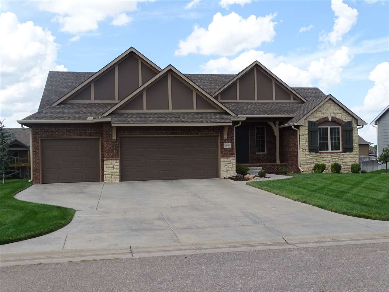 Spacious like new home in The Meadows in Auburn Hills in Goddard schools.  You'll find your family w
