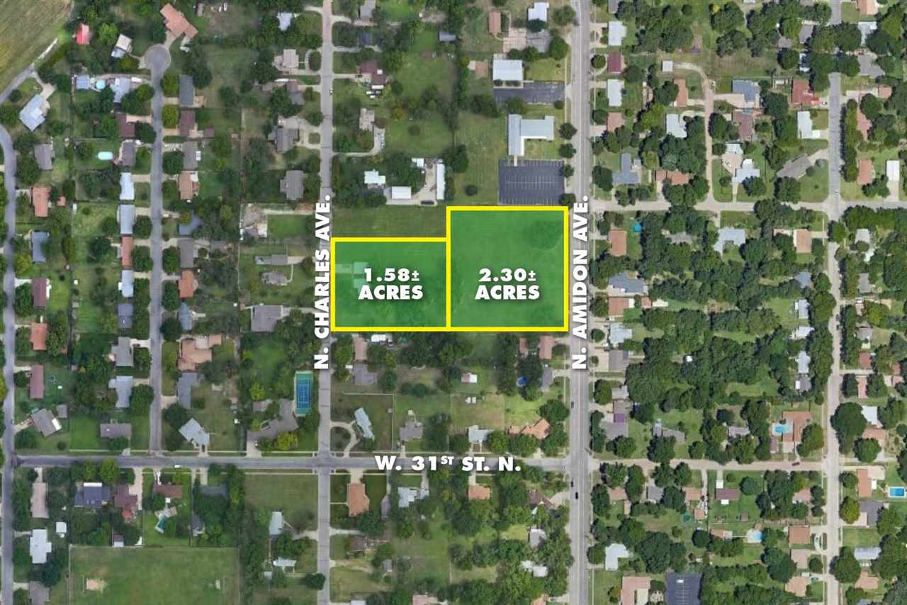 For Sale: 2.30+/-  Acres at 29th & Amidon, Wichita KS