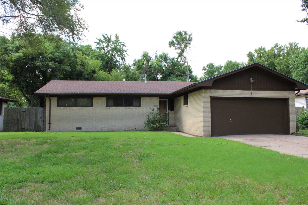 You will Love this Brick Ranch with limited Exterior Painting. Home still has some of the 1950's dec