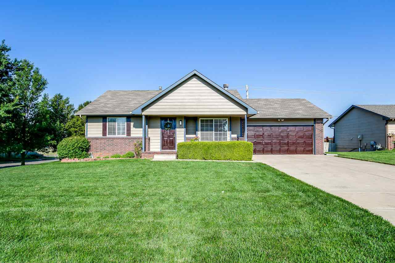 Welcome to your updated, like-new, low maintenance home in Maize School District! This 3 bedroom, 2