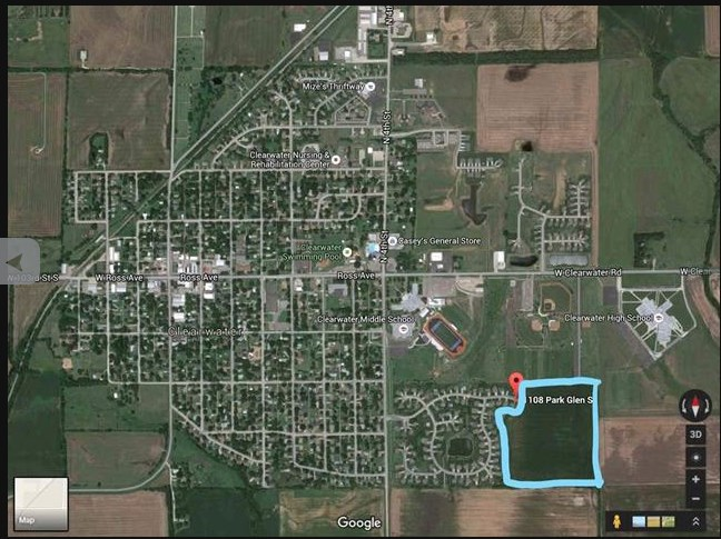 For Sale: 1017  Park Glen St, Clearwater KS