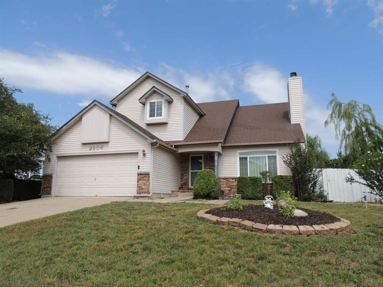 Wichita address, Derby schools!  This grand 2-story home is nestled in the heart of an established n