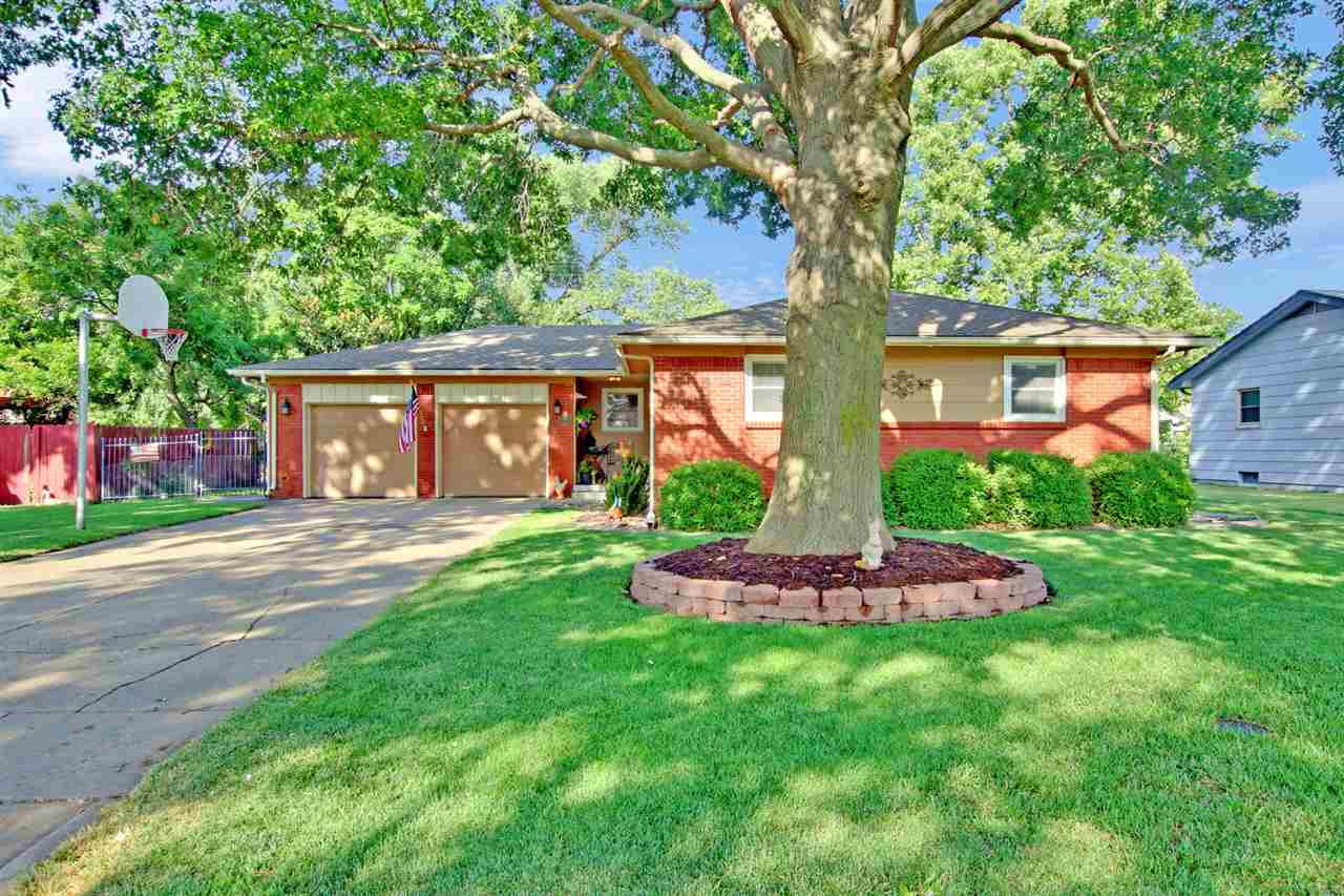 Rare Find in West Wichita! Beautifully updated Ranch Dollhouse with 3BR, 2BA and an additional non-c