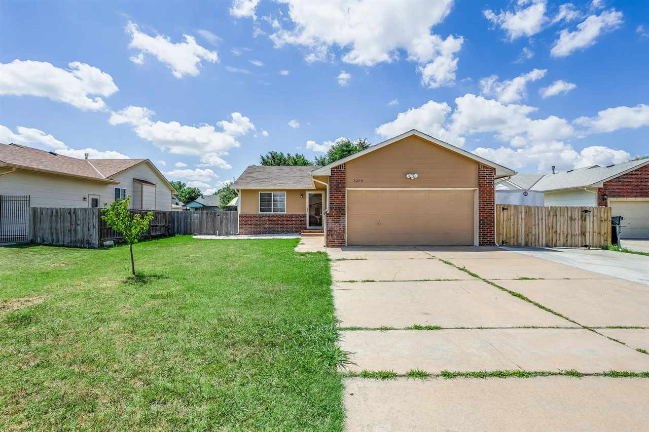 Awesome move-in ready ranch home in a nice cul-de-sac featuring 2 bedrooms, 2 full bathrooms and a 2