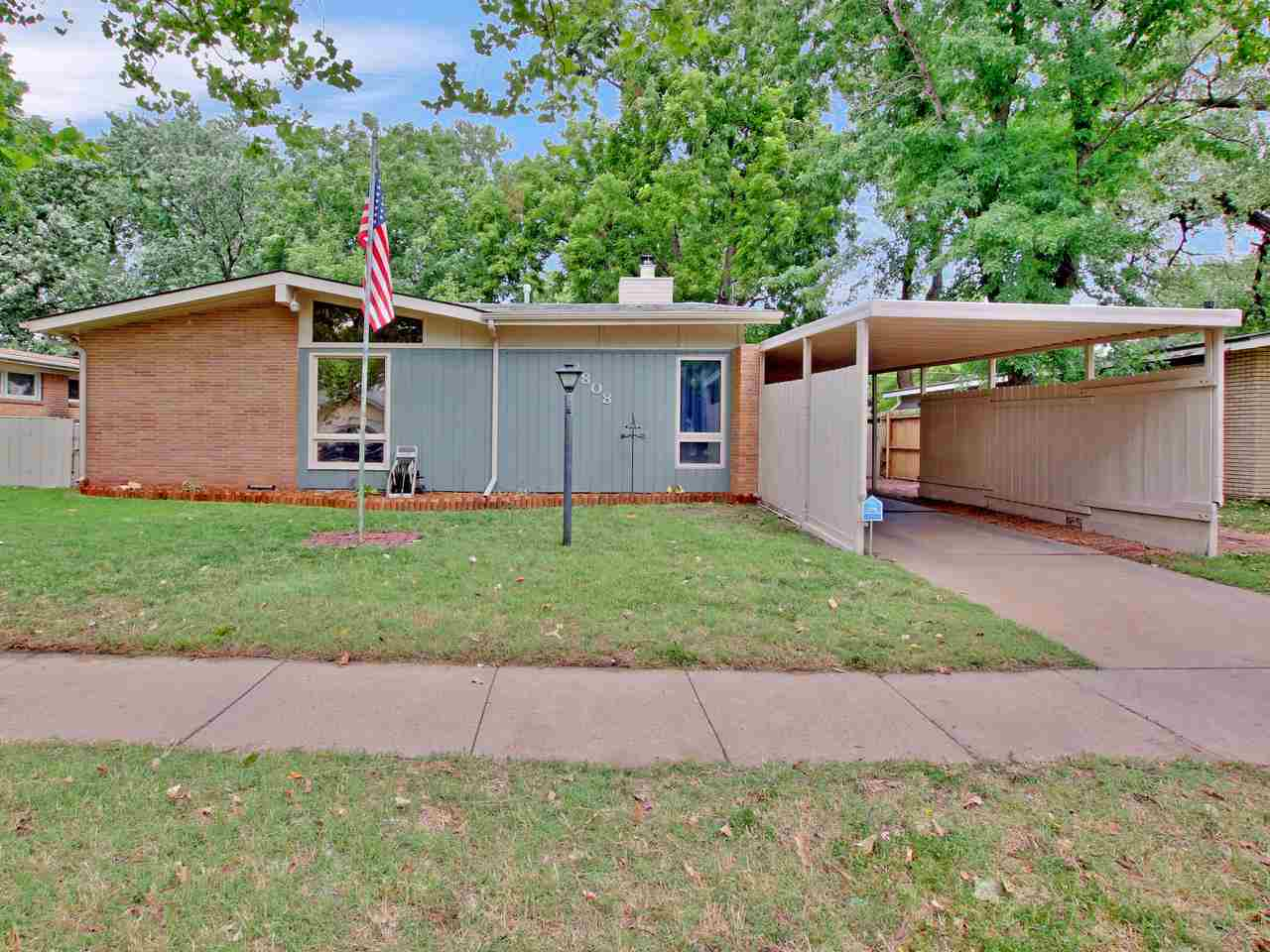 CHARMING MID-CENTURY RANCH THAT'S FULL OF CHARACTER!  This updated 3 bedroom, 2 bath home offers 1,5