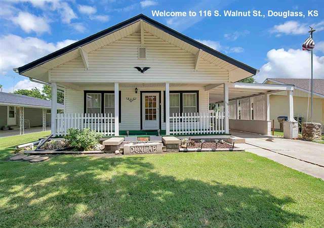 For Sale: 116 S Walnut St, Douglass KS