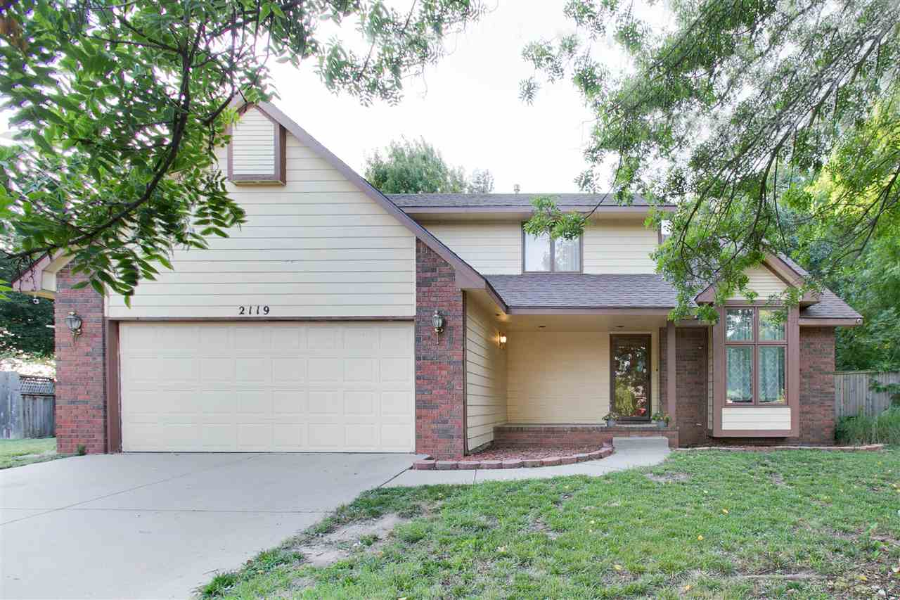 Come see this wonderful spacious 2-story home in Maize School district today!  Step into a beautiful