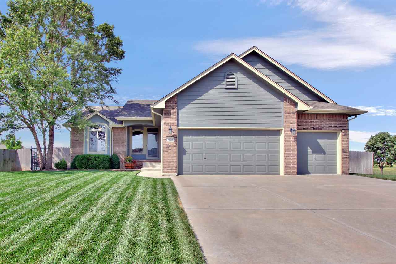 Great one owner home in the Maize School system. 5 bedroom, 3 bath, 3 car garage fence backyard with