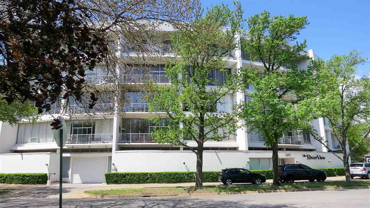 The RiverView offers carefree living with spectacular views.  This fourth floor condo has been very