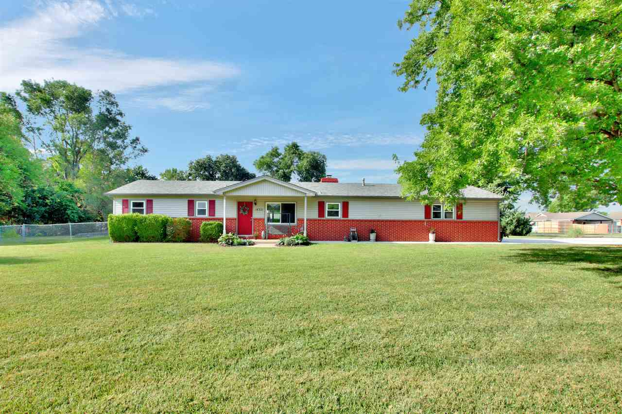 Hard to find home on over 1/2 acre with in-ground pool and no HOA!   Everything is on the main level