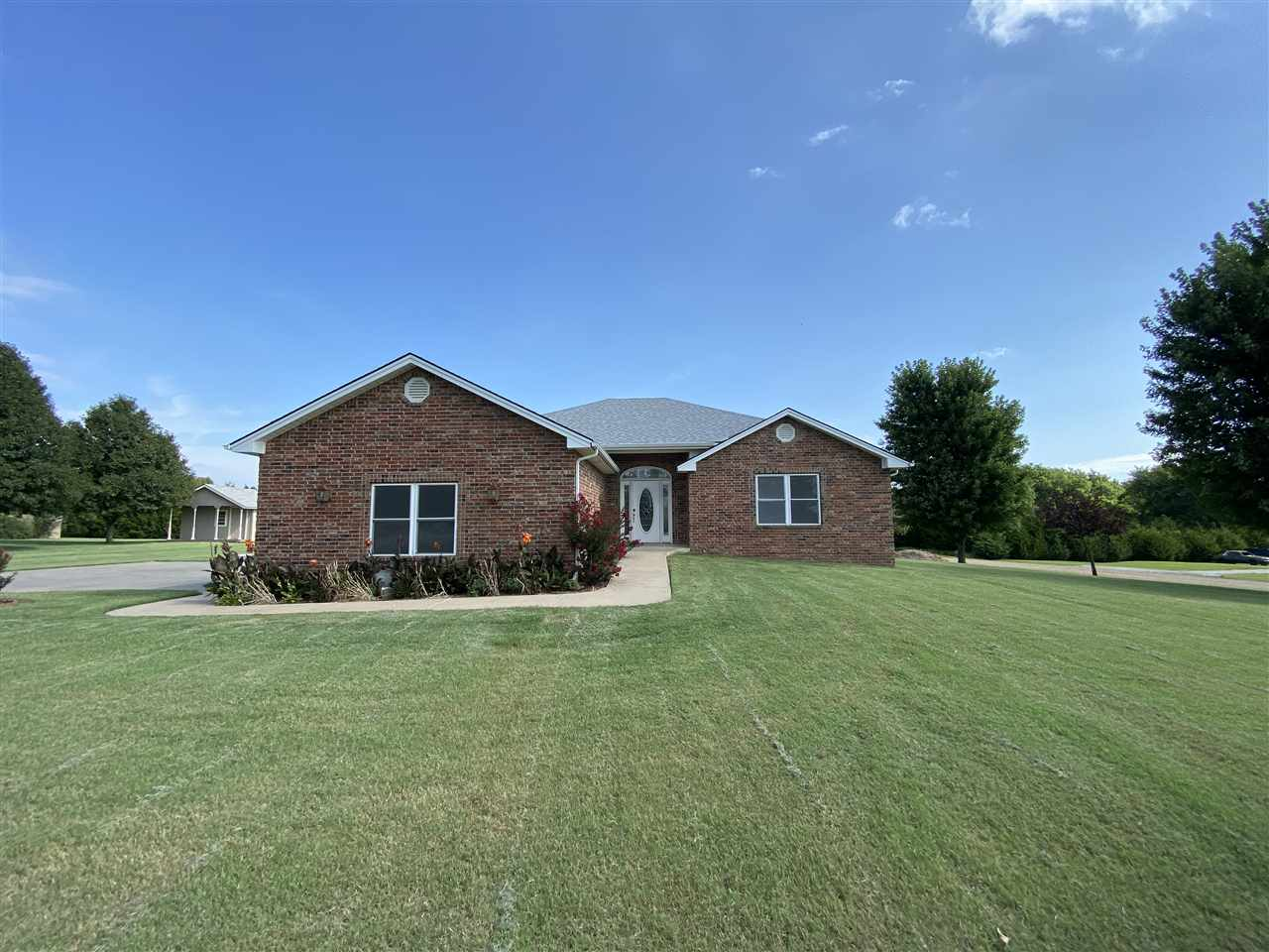This  custom built home has had one owner and is very well maintained and boasts a new roof. The flo