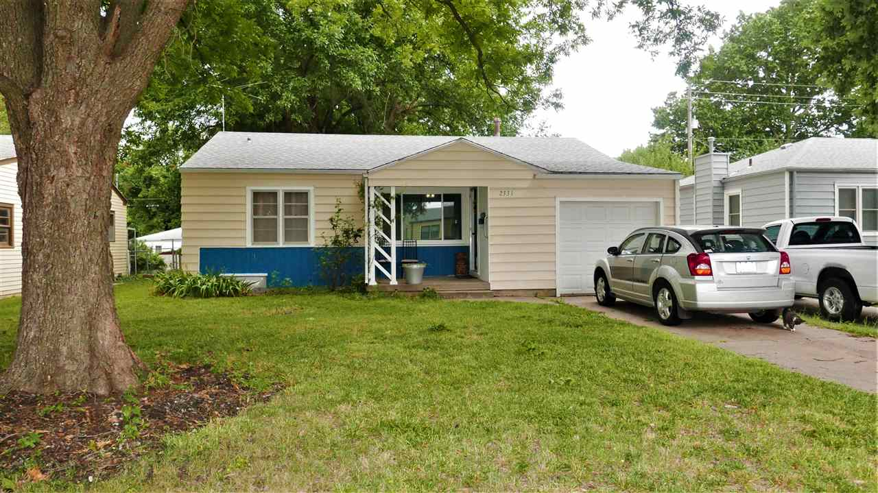 Newly updated ranch home with 2 bedrooms and 1 1/2 bathrooms. Beautiful hardwood floors and new tile