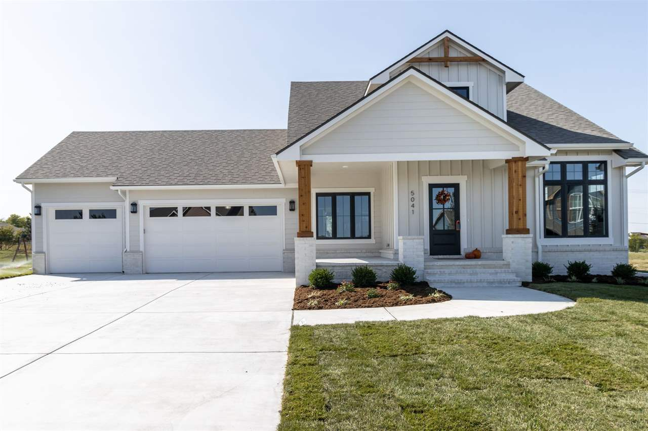 Welcome home to this new custom plan brought to you by Prarie Construction. This unique, story and a