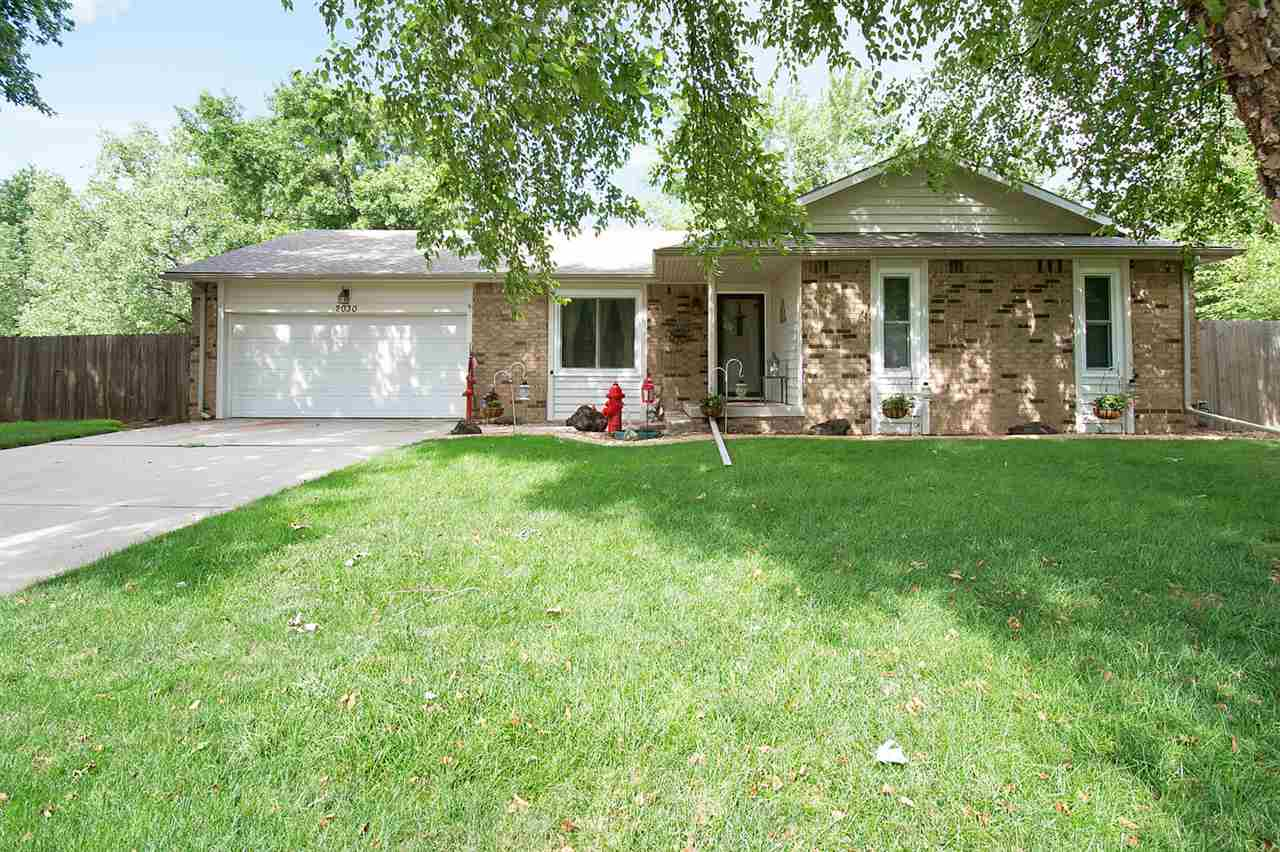 UPDATED ranch style home on quiet tree lined cul-de-sac!  The beauty has 3 bedrooms and 2 baths on t