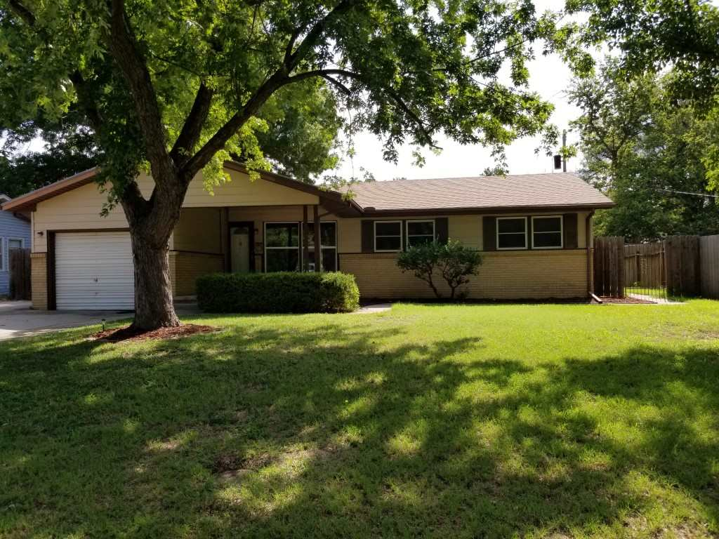 This one is move in ready with fresh paint, refinished wood floors, updated bath and newer windows.