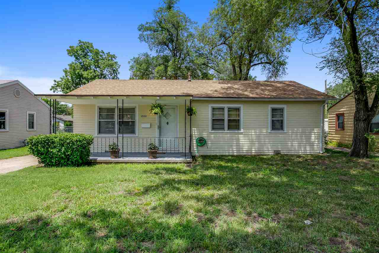 Welcome Home to 1000 W. Davis Dr.! This south Wichita home has a BRAND NEW ROOF! as well as new exte