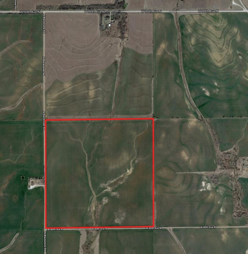 For Sale: NE/c of W 80th Ave N and N Blackstone Rd, Argonia KS