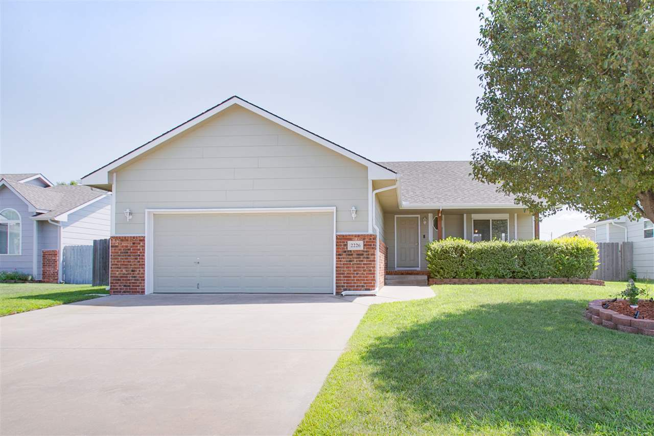 Well Maintained home located in Goddard Schools. This 4 Bed/3 Full Bath ranch features an attractive