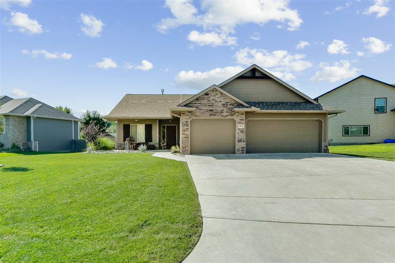 Like New Ranch with highly sought after Zero Entry in the popular Timberlane Subdivision! This 5-yea