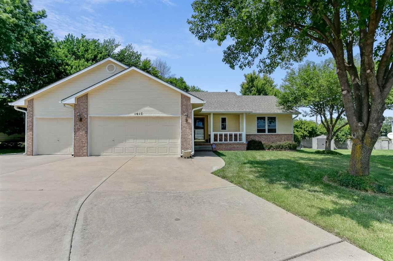 You will not find a more move in ready home than this darling at 1617 S Todd Ct Wichita, KS convenie