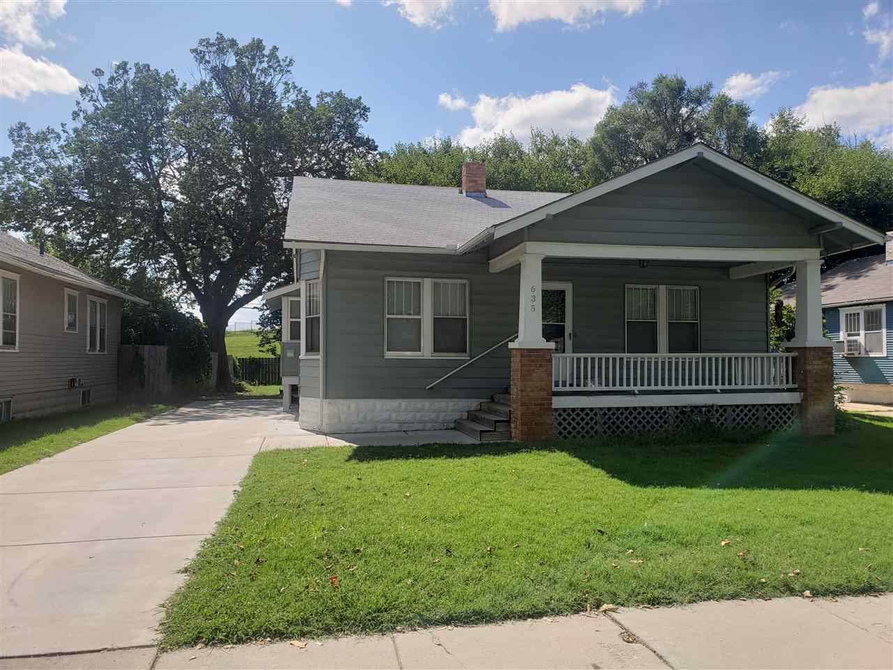 3 Bed/1 Bath Updated Bungalow.  Hardwood floors throughout.  Remodeled kitchen and bath.  Nearly eve