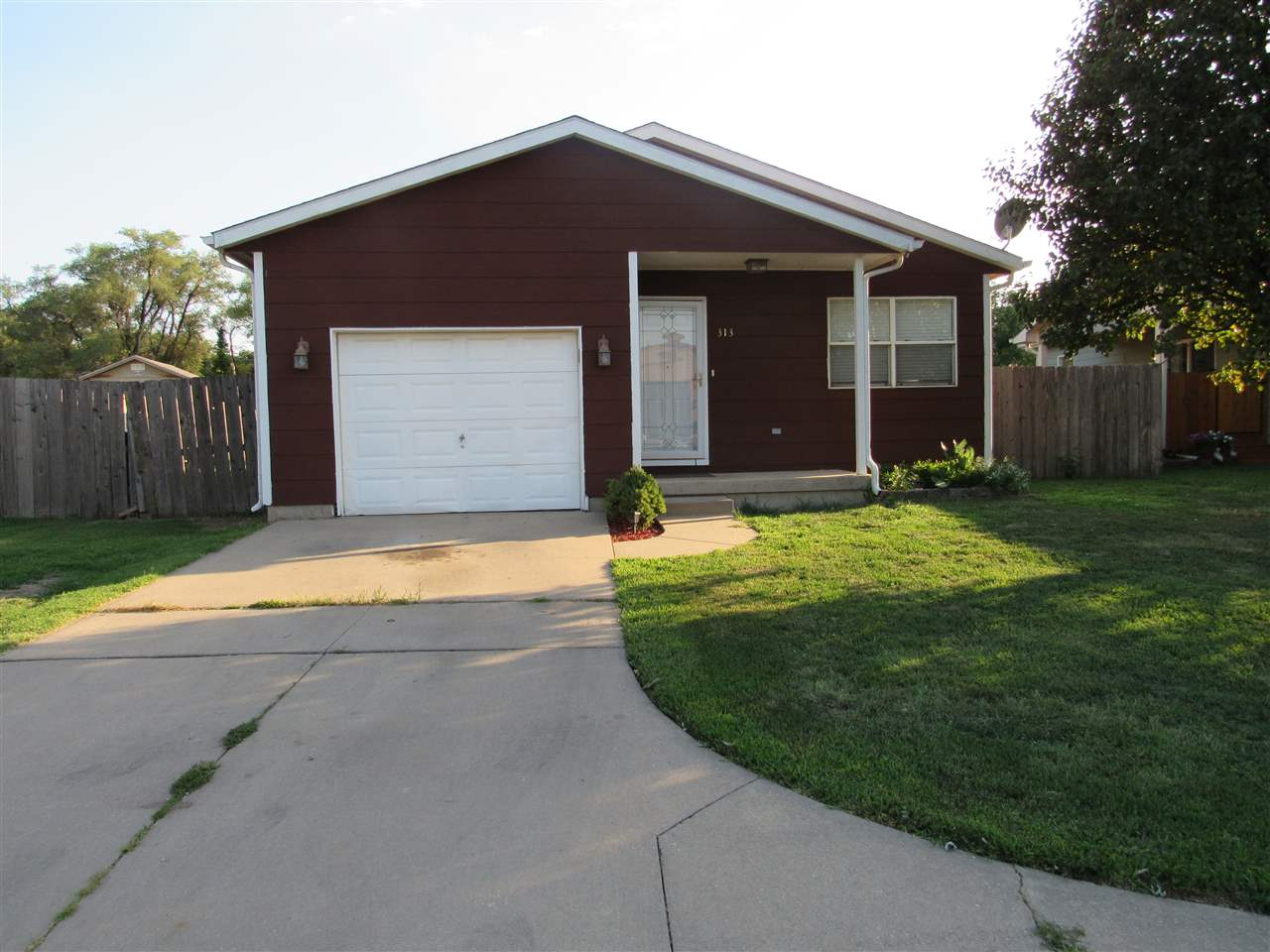 Fantastic Value with No neighbors directly behind you.   Ranch style 3 bedroom, one bath is ready to