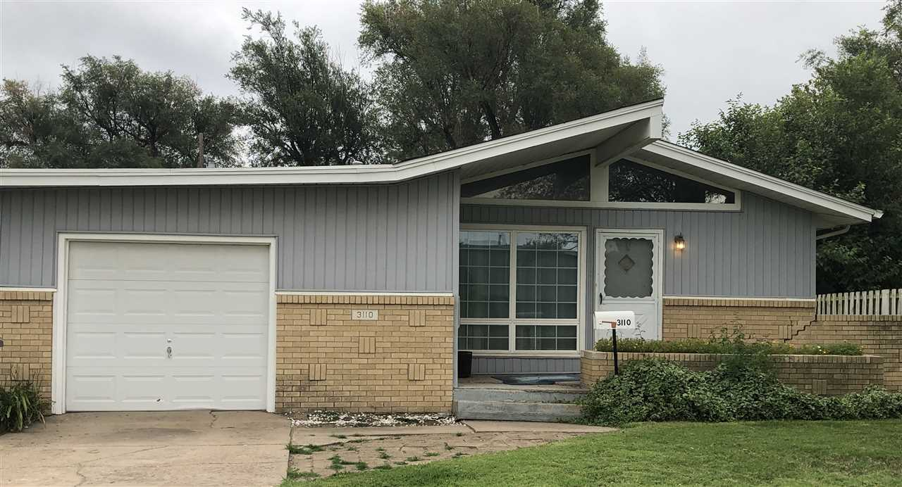 Looking to down size or your first starter home this 3 Bedroom 1 Bath home on the West side of Wichi