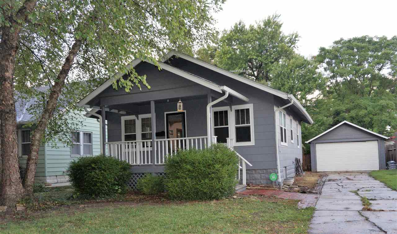 So much charm in this 2 bedroom 1 bath home. Hardwood floors throughout, with beautiful trim and bas