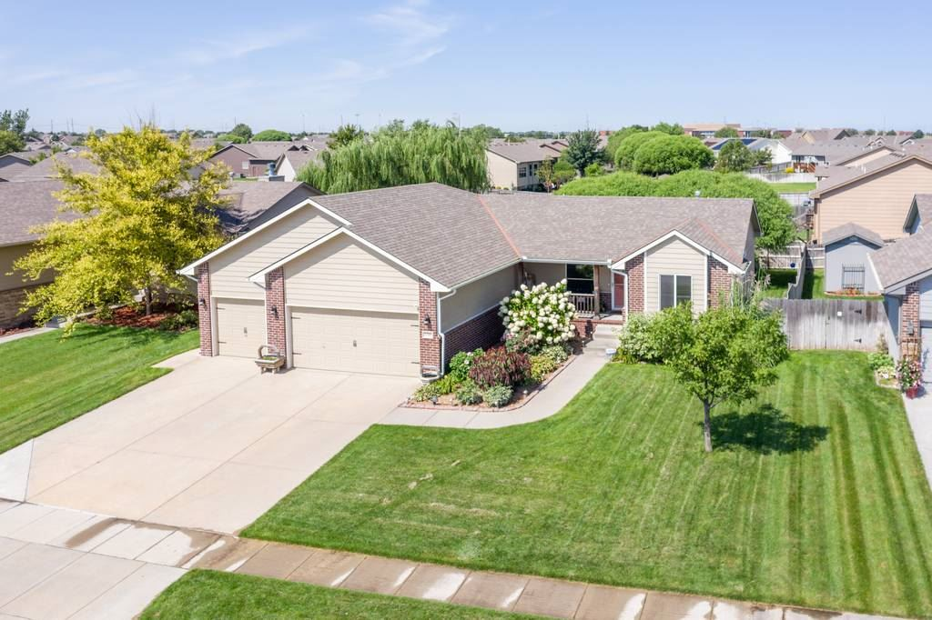 Stop your home search! This stunning five bedroom estate in the Maize School District is packed full