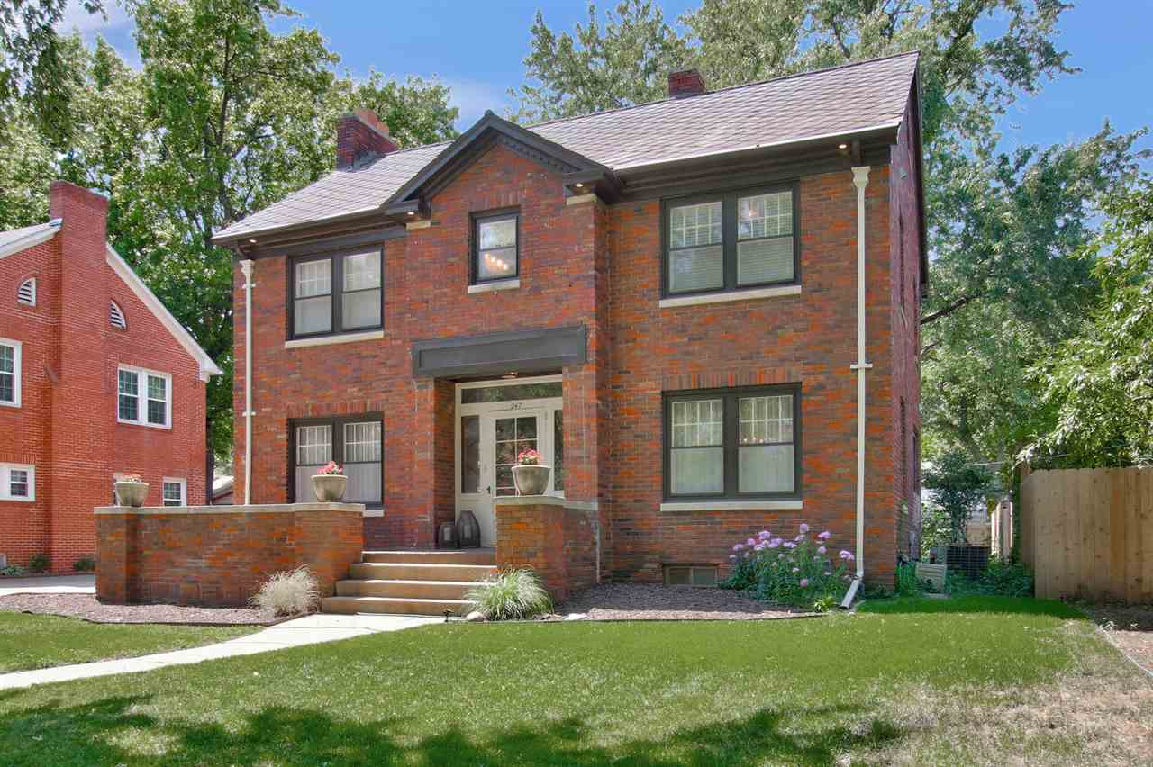 Welcome home to this lovely brick colonial in the heart of College Hill. As you step in the front do