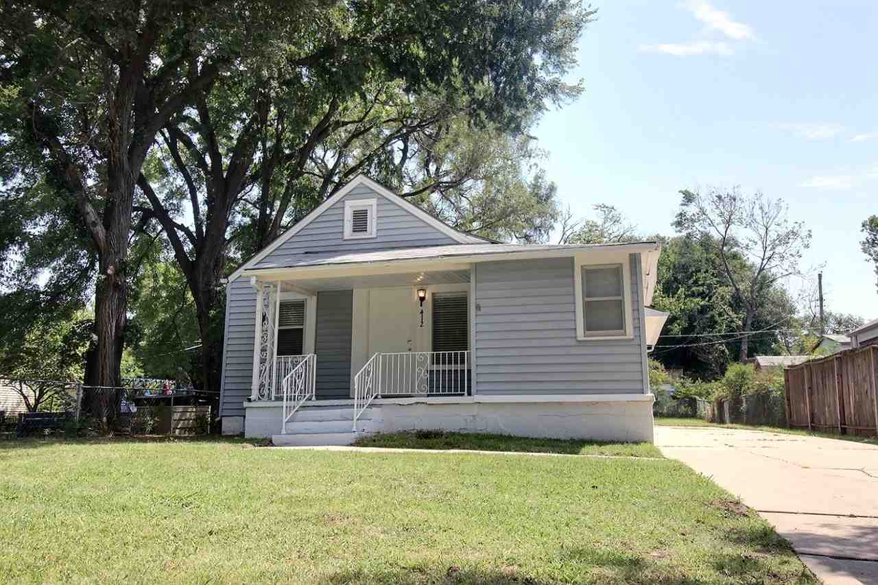 Super Cute 3 bedroom home on quiet street in West Wichita.   This home was a total rebuild 7 years a